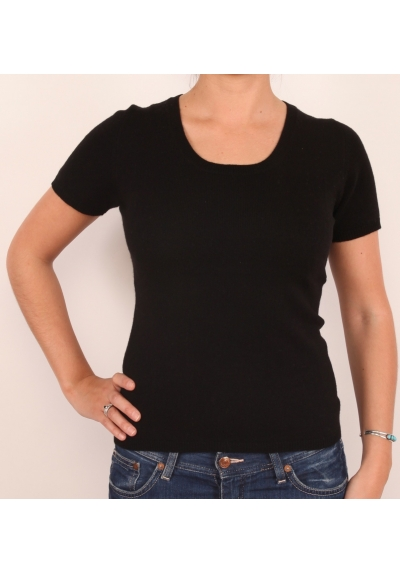 Woman short sleeves sweater